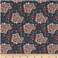 Moda Grant Park Jacobean Warm Blue