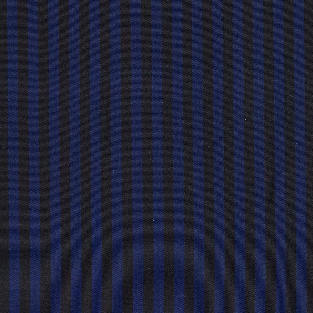 Silk Taffeta Stripe Navy