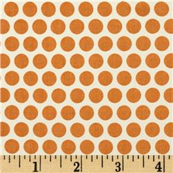 Birch Organic Mod Basics Dottie Two Orange