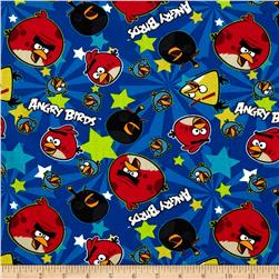Angry Birds Stars Blue Fabric