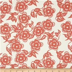 Ty Pennington Home Decor Sateen Spring 11 Asian Floral Spice