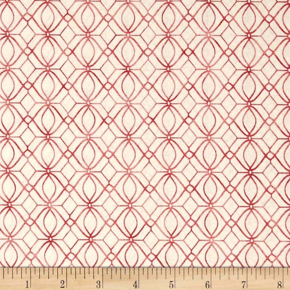 Ariel Diamond Geometric Pink