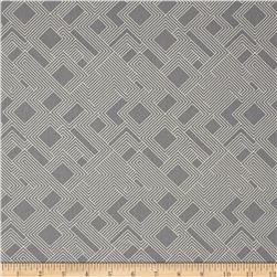 Kaufman Fragmental Gridwork Grey