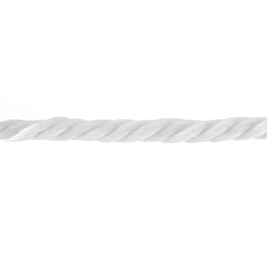 1/2'' Wrights Cable Cord White by Notions Marketing in USA