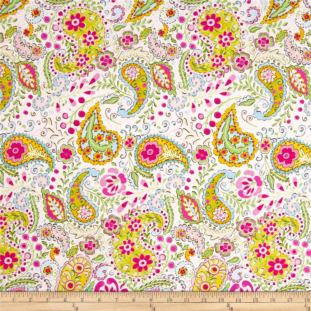 Tiddlywinks Paisley Pink