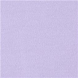 Cotton Spandex Knit Solid Lilac