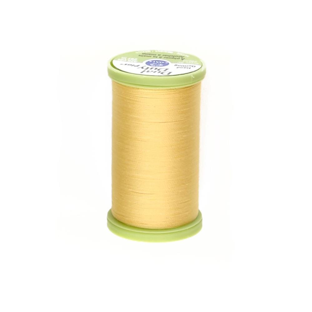 Coats & Clark Dual Duty Plus Hand Quilting Thread 325 Yds.Yellow