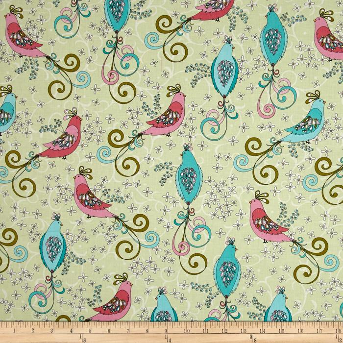 Soul Blossom Chick A Doodle Green/Multi