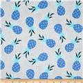 Michael Miller Migration Pineapple Palm Blue
