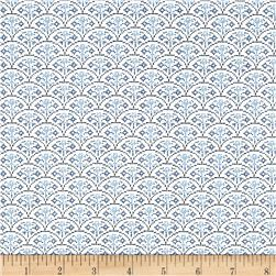 Moda Nordic Stitches Rose Arc Bla-Sno