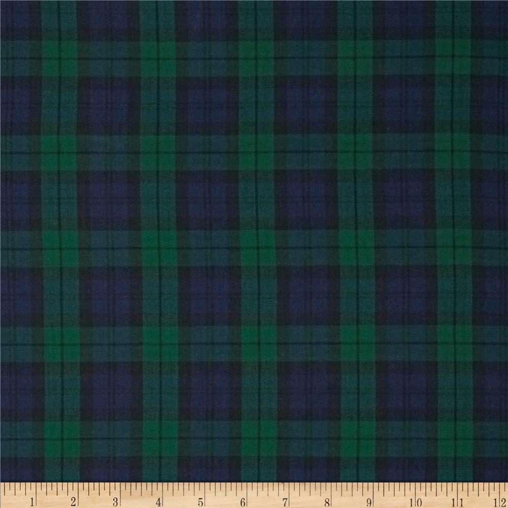 Kaufman House of Wales Plaid Nightfall Fabric