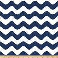 Riley Blake Wave Navy