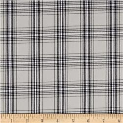 Kaufman Classic Threads Plaid Grey