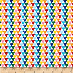 Riley Blake Colorfully Creative Knit Crayola Triangle Multi