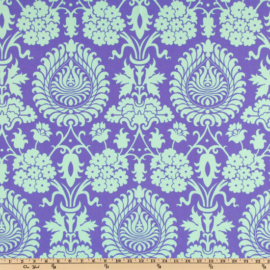 Amy Butler Love Bali Gate Perwinkle Fabric