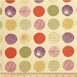 Piper Patterned Dots Cream