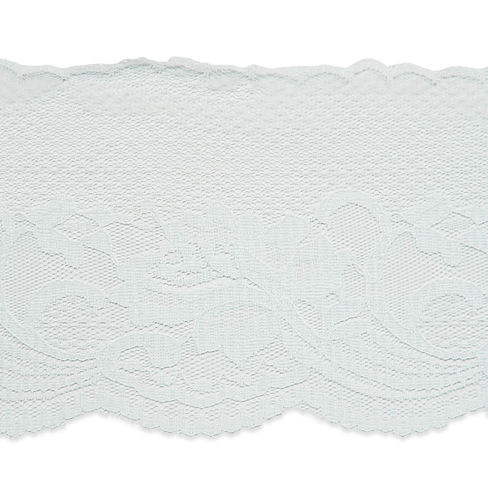 4 1/2'' Penelope Chantilly Lace Trim White by Expo in USA