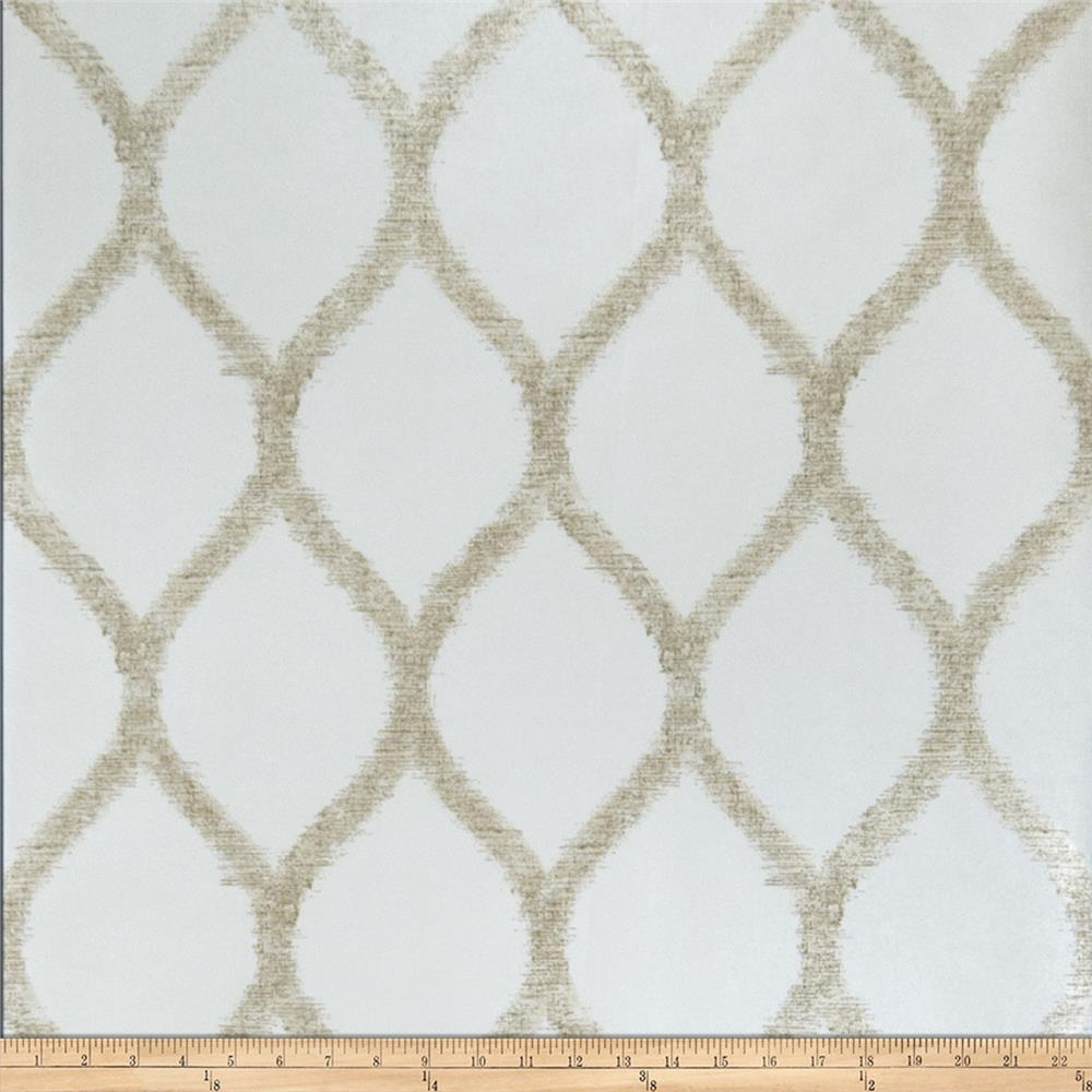 Fabricut Darling Wallpaper Sand (Double Roll)