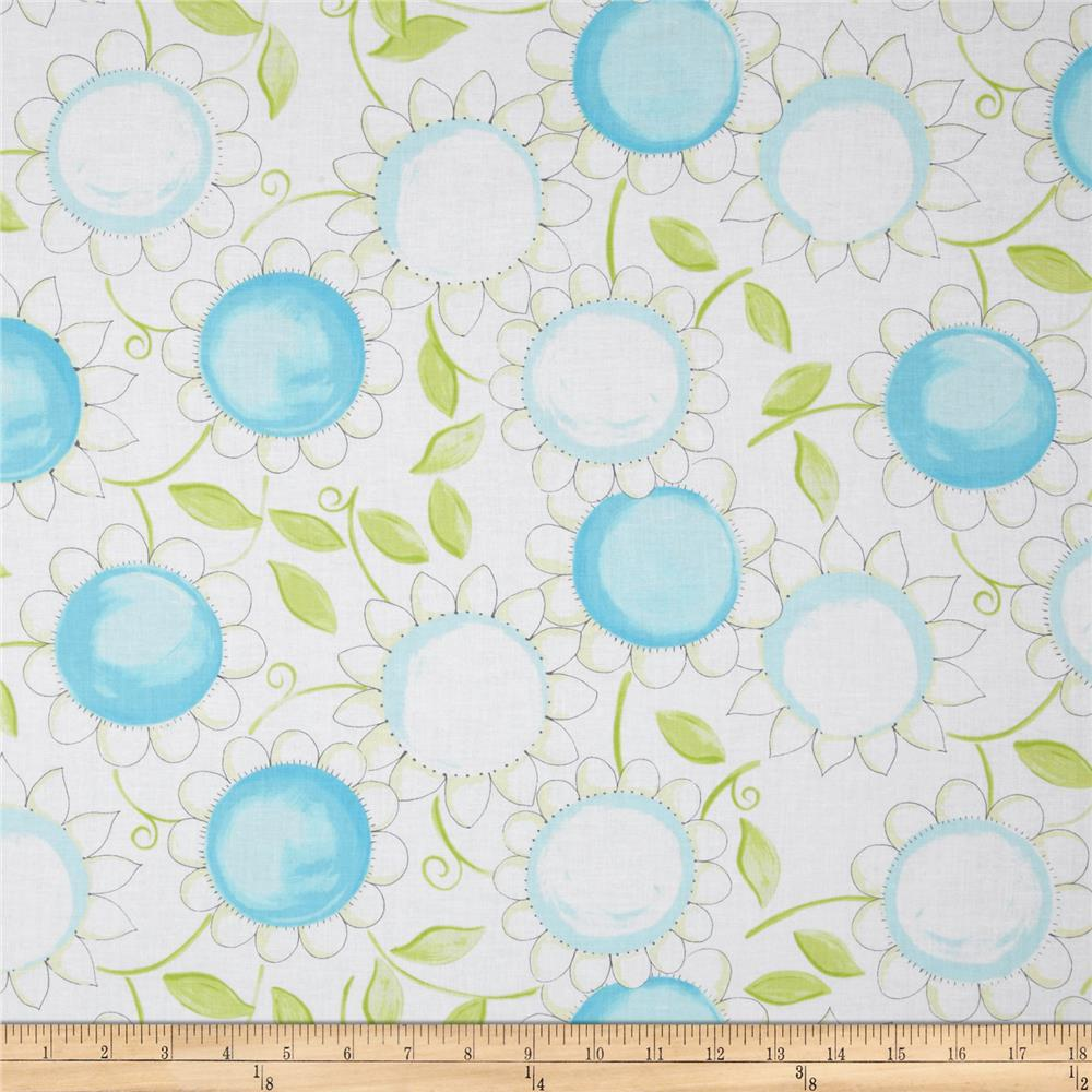 Susy Sunflower Signature Large Daisy Blue