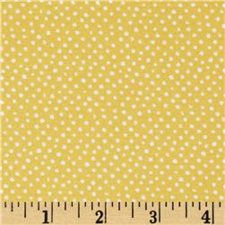 Mini Confetti Dot Gold Fabric