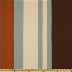 Premier Prints Wilson Stripe Village Blue/Natural Fabric