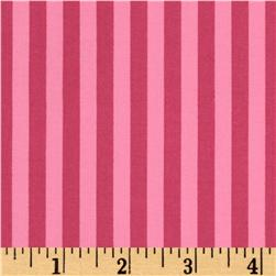 Michael Miller Contemporary Florals Clown Stripe Candy Fabric