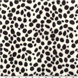 Minky Cuddle Dalmation Black/White Fabric