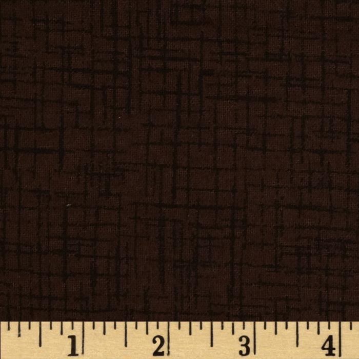 110 In. Wide Quilt Back Betula Flannel Brown Fabric By The Yard
