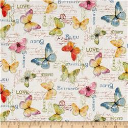 Rainbow Seeds Butterflies White