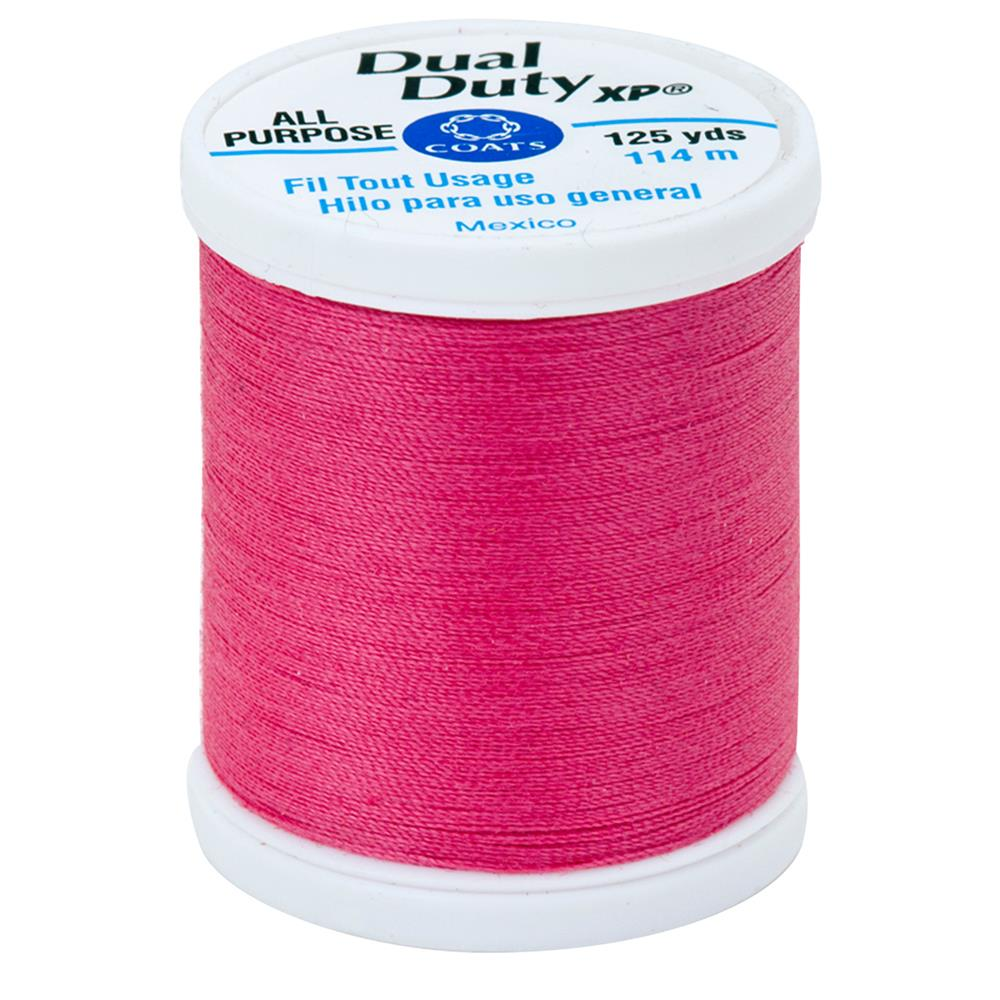 Coats & Clark Dual Duty XP 125yd Hot Pink