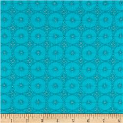 Cassie Eyelet Turquoise