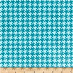 Minky Cuddle Houndstooth Teal/Saltwater