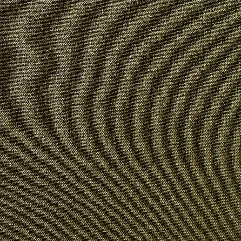 Rayon Challis Solid Olive