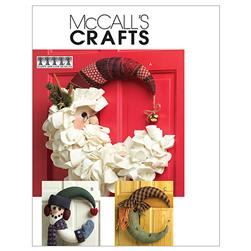 McCall's Seasonal Decorations Pattern M5205 Size OSZ