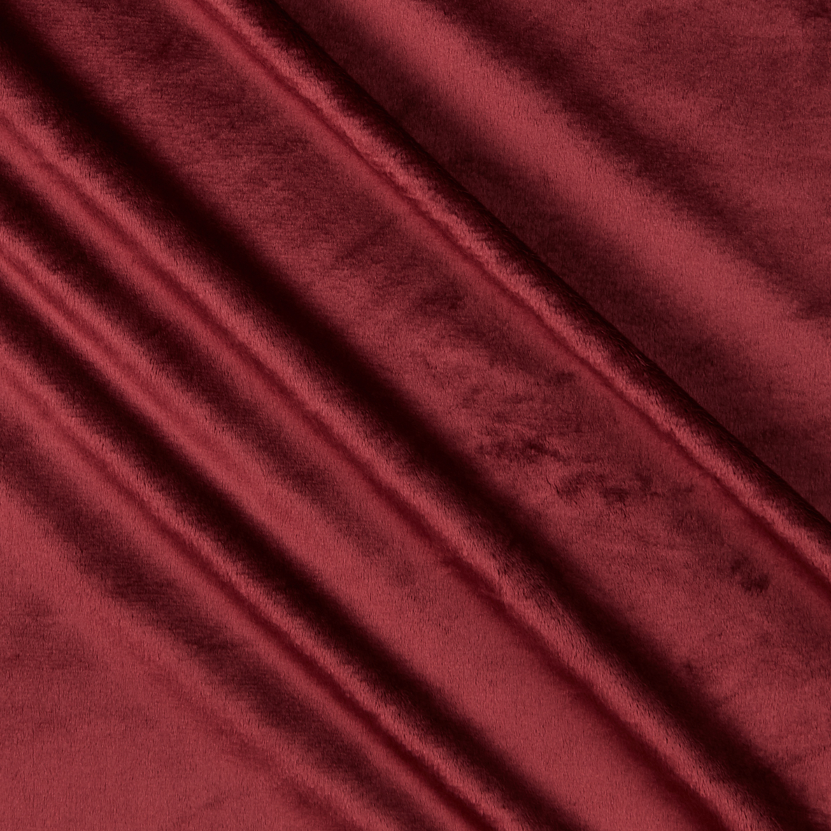 Shannon Minky Cuddle 3 Merlot Fabric by Shannon in USA