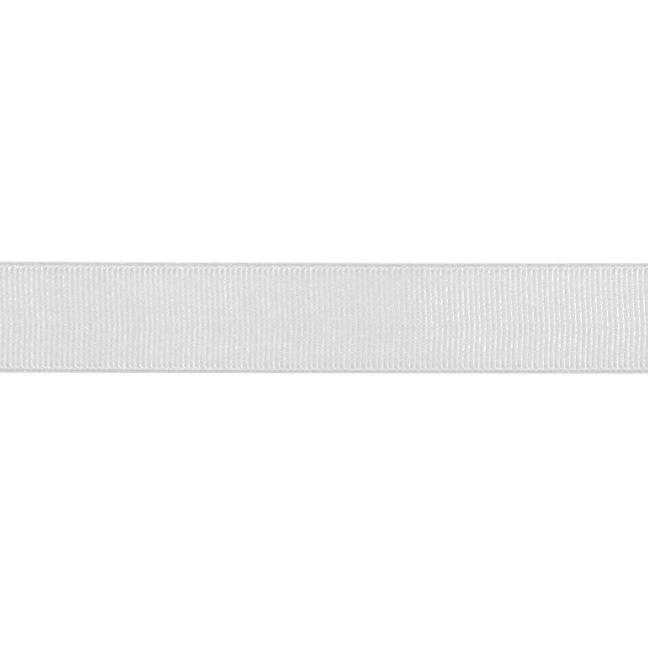 3/4'' Grosgrain Ribbon Silver