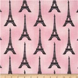 Paris Panache Eifel Tower Pink