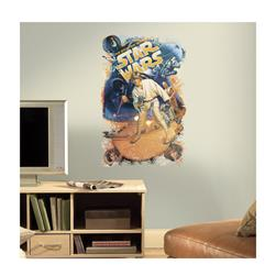 Star Wars Classic Retro Wall Decal