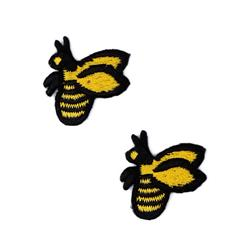 Boutique Applique Bees Yellow/Black