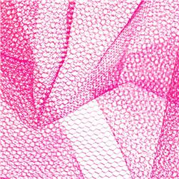 Nylon Net American Beauty Pink Fabric