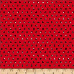 Landon Creek Diamond Red Fabric