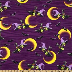 Legend of Webb Hill Witches Allover Purple