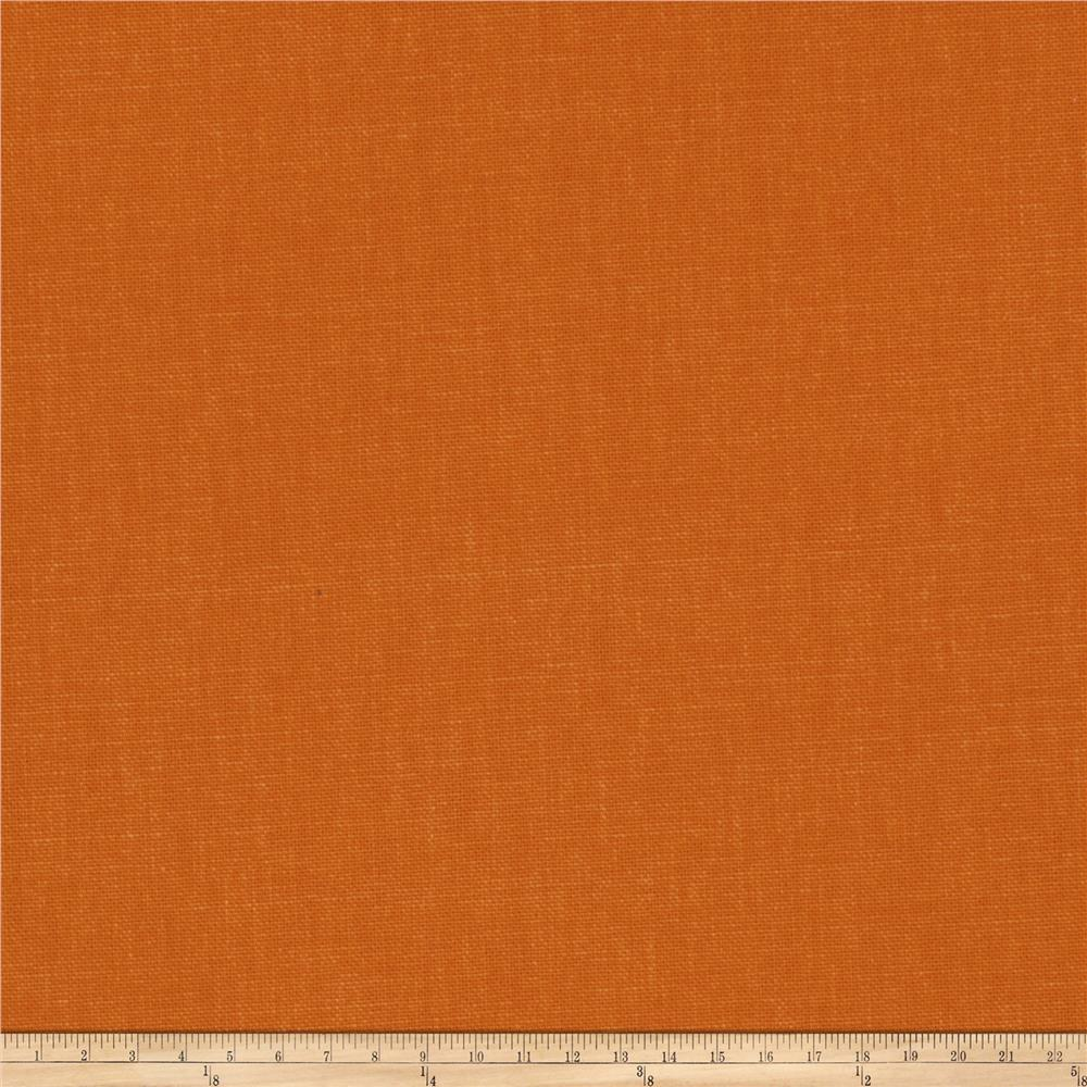 Fabricut principal brushed cotton canvas pumpkin for Canvas fabric