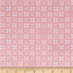 Kaufman Little Prints Double Gauze Silverdollar Pink