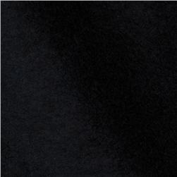 45'' Plush Felt Jet Black Fabric