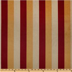 Belfast Sueded Stripe Red/Gold