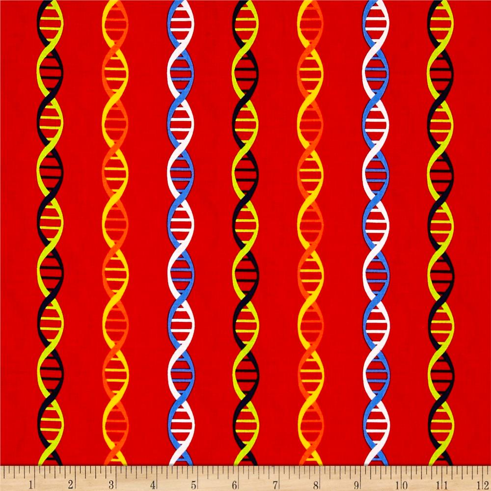 Geek Chic Dna Stripe Red