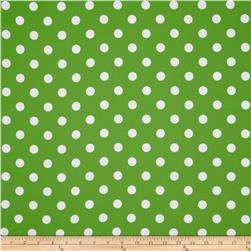 RCA Polka Dots Blackout Drapery Fabric Green