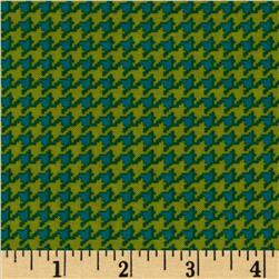 Michael Miller Tiny Houndstooth Caribe Fabric