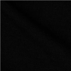Stretch Rayon Blend Hatchi Knit Black